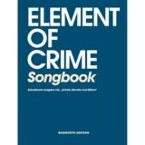Bosworth Music Element Of Crime: Songbook Product Image