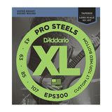 D'Addario Bass Strings Pro Steels 43-107 43-60-85-107, EPS300 Product Image