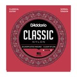 D'Addario Classical Guitar Strings EJ27N Silverplated, Normal Product Image