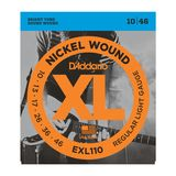 D'Addario E-Guitar Strings EXL110 10-46 Nickel Wound Product Image