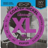 D'Addario EXP120 Super Light Electric Gu itar Strings, 9-42   Product Image