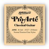 D'Addario J4502 H2 Pro Arte Single String Normal Tension  0322/J45 Product Image