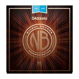 D'Addario NB1253 12-53 Nickel Bronze Acoustic Light Product Image
