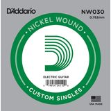 D'Addario Single String NW030 Nickelwound Product Image