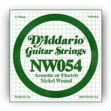 D'Addario Single String NW054 Nickelwound Product Image