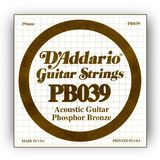 D'Addario Single String PB039 Phosphor Bronze Product Image