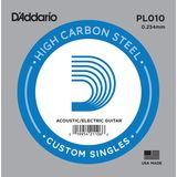 D'Addario Single String PL010 Plain  Product Image