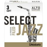D'Addario Woodwinds Alto Sax Reeds 3S Box of 10 Product Image
