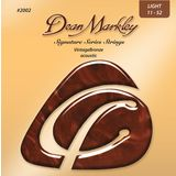 Dean Markley A-Guitar Strings 11-52 2002 LT VintageBronze Acoustic Product Image