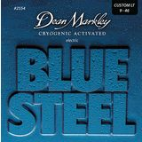 Dean Markley E-Guitar Strings 09-46 2554 CL Blue Steel Product Image