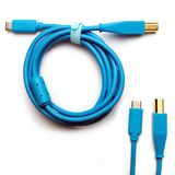 DJ TECHTOOLS DJTT USB-C Chroma Cable Blue 1,5m, gerader Stecker Product Image