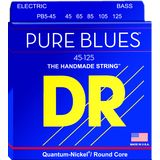 DR PB5-45 Pure Blues Round Core Bass 5-Strings 45-125 Product Image