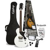 Epiphone PRO-1 Les Paul Junior Performance Pack Alpine White Produktbild