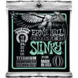 Ernie Ball E-Guitar Strings 12-56 Coated Titanium Not Even SlinkyEB3126 Product Image