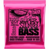 Ernie Ball EB2834 Super Slinky Bass Strings 45-100 Product Image