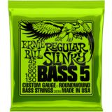Ernie Ball EB2836 Regular Slinky Bass 5-Strings 45-130 Imagem do produto