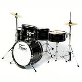 "Fame 5 PC Junior Drumset Black ""Luis"" Product Image"