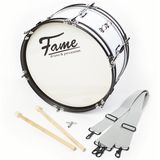 "Fame Junior Marching BassDrum 16""x7 incl. Strap and Beaters Product Image"