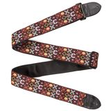 "Fender Guitar Strap 2"" Hootenanny Red Product Image"