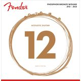 Fender Phosphor Bronze 60L Acoustic G uitar Strings   Product Image