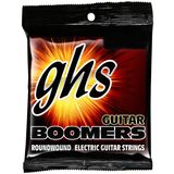 GHS E-Guit.Strings,12-52,Boomers Nickel-plated Roundwound Product Image