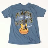Gibson Played By The Greats-T-Shirt M-Indigo Product Image