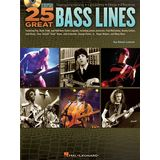 Hal Leonard 25 Great Bass Lines Product Image