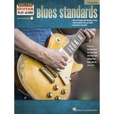 Hal Leonard Deluxe Guitar Play-Along: Blues Standards Product Image