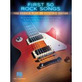 Hal Leonard First 50 Rock Songs You Should Play On Electric Guitar Product Image