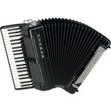 Hohner Piano-Accordion Morino + IV 120 bass, IV voices, Black Product Image