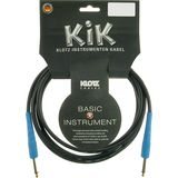 Klotz Instrument Cable 4,5m black KIK-Coloured mountain blue Product Image