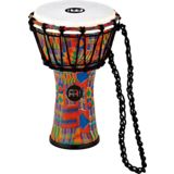 "Meinl JRD-KQ Junior Djembe 7"" Kenyan Quilt Product Image"