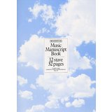 Music Sales Woodstock Music Manuscript Paper: 12 Stave - 32 pages Product Image