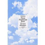 Music Sales Woodstock Music Manuscript Paper: 12 Stave - 64 pages Product Image