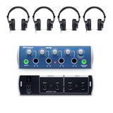 Presonus HD9/HP4 Bundle 1x HP4 Amp + 4x HD9 Headphones Product Image