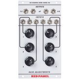 Red Panel Model 106 6-Channel Mixer Produktbild
