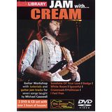 Roadrock International Lick Library: Jam With Cream DVD, CD Product Image