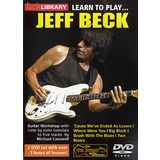 Roadrock International Lick Library: Learn to Play Jeff Beck DVD Product Image