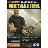 Roadrock International Lick Library: Learn To Play Metallica DVD Product Image