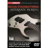 Roadrock International Lick Library: Rock Foundations Alternate Picking DVD Product Image