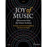 Schott Music Joy of Music - Discoveries from the Schott Archives Product Image