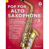 Schott Music Pop For Alto Saxophone 3 Product Image