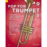 Schott Music Pop For Trumpet 3 Product Image