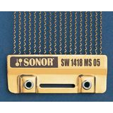 "Sonor SW1418MS 05 Snappy Snares 14"", brass, 18 wires Product Image"