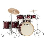 Tama CL72R Superstar Classic Exotic Gloss Garnet Lacebark Pine Product Image