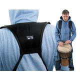 Terré Djembe Strap Back-Pack Black Product Image