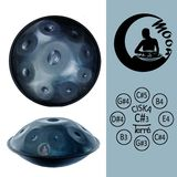 Terré Handpan Moon Cis-Ziska Product Image
