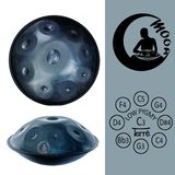 Terré Moon Handpan C Low Pygmy Product Image