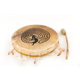 Terré Sami Shamnic Drum 40cm with Print Product Image