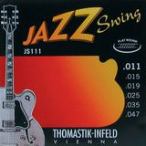 Thomastik E.-Guit.Str.,11-47,Jazz Swing Flat Wound Product Image